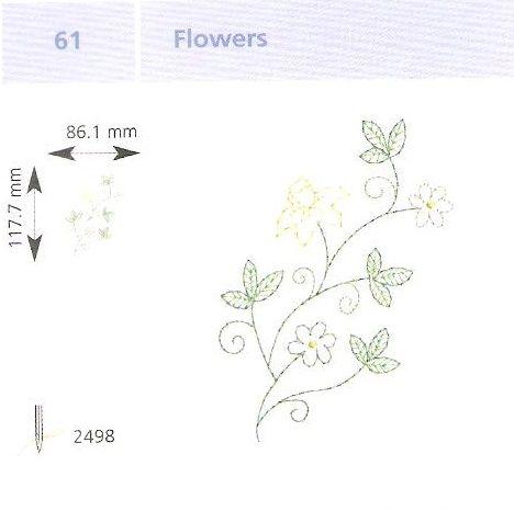 Virág hímzés