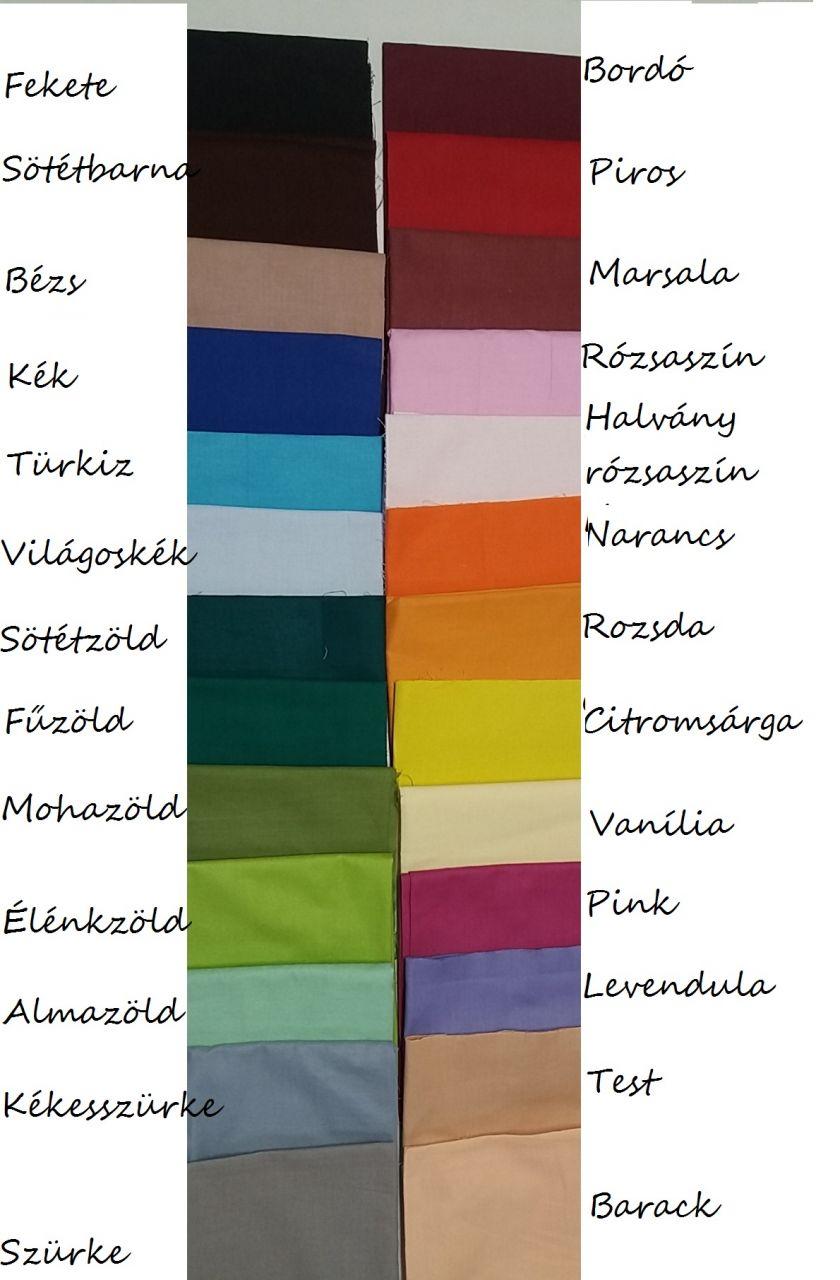 Gyerek gumis lepedő 60x120cm (választható színek)
