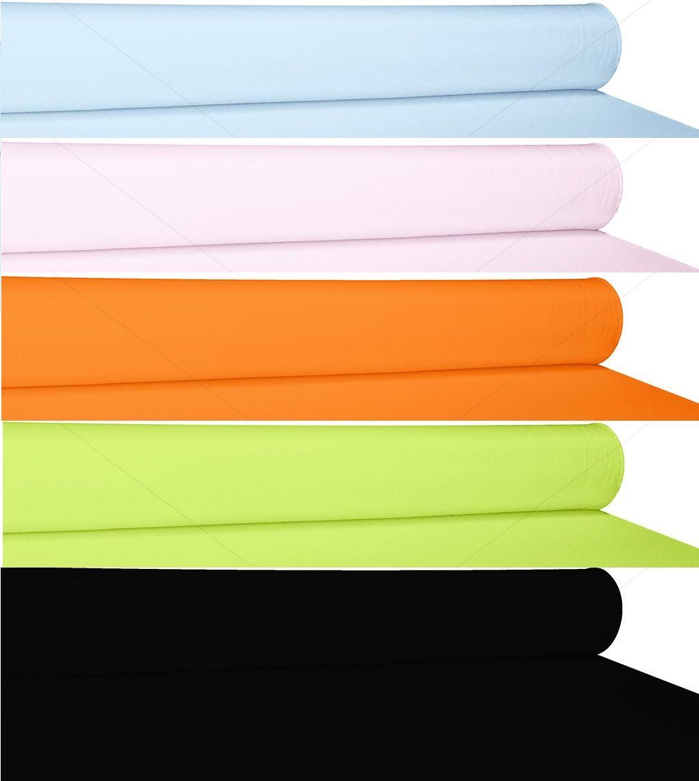 Pamut poliészter anyag egyszínű (választható színek)