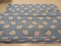 Pamut vászon anyag felhők (választható szín) 23354461f6